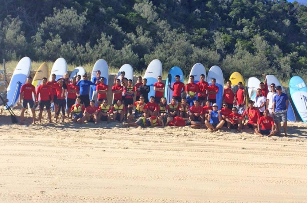 Gurkhas hit the surf – Epic!